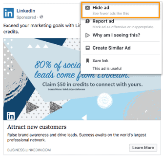 การ hide ads