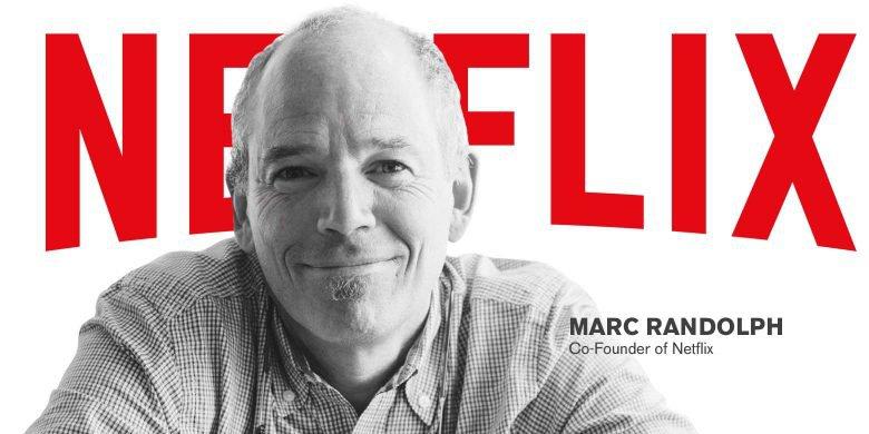 จับมือกับ Marc Randolph เพื่อสร้าง netflix