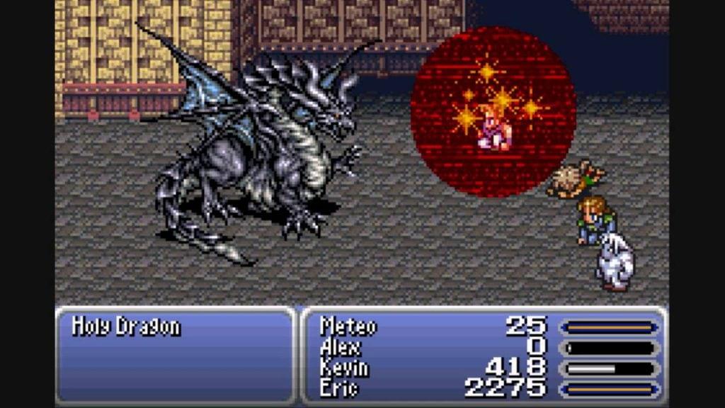 Final Fantasy VI กับการยกเครื่อง Graphic ส่งท้ายให้เครื่อง SFC