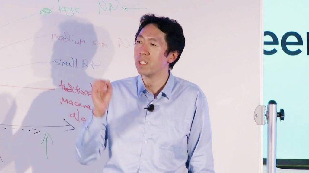 Andrew Ng ปรมาจารย์ด้าน AI ลำดับต้น ๆ ของโลก