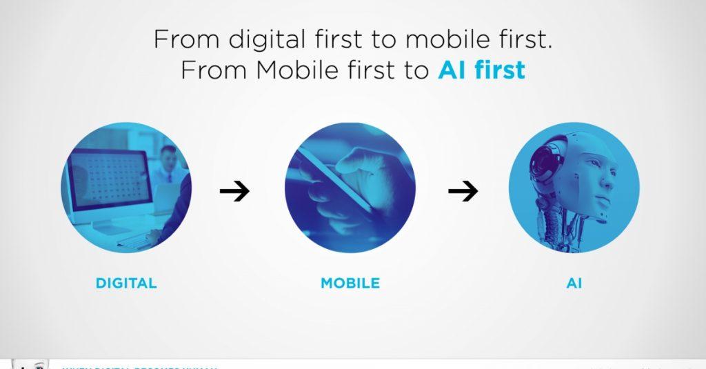 จาก mobile first เปลี่ยนเป็น AI First