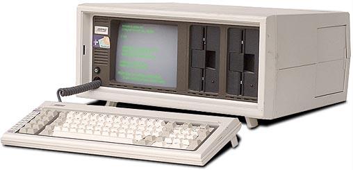 ผลิตภัณฑ์ตัวแรก Compaq Portable PC