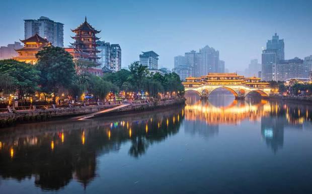 เมือง chengdu ประเทศจีน