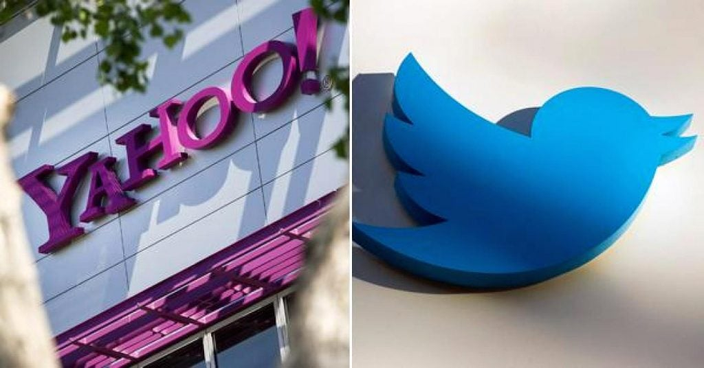 Yahoo ยักษ์ใหญ่ด้าน online ขณะนั้นต้องการเข้าซื้อ twitter