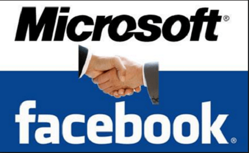 microsoft ต้องเตะตัดขา google ที่พยายาม take over facebook
