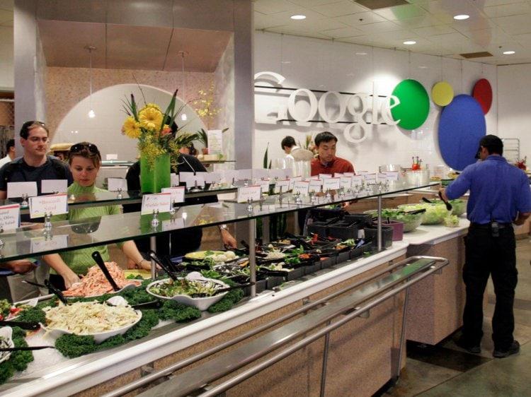 วัฒนธรรม อาหารฟรี ที่ google บิซ จะไม่ได้เจออีกต่อไป