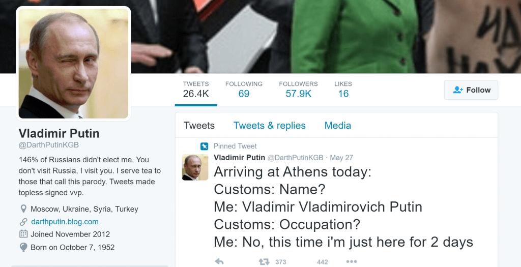 วลาดิเมียร์ ปูติน ประธานาธิบดี รัสเซีย ยังเคยมาเยี่ยมถึง office twitter