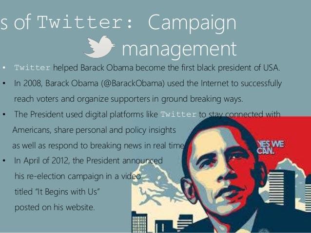 การเลือกตั้ง 2008 จุดเริ่มต้นของการใช้ social media ในการเลือกตั้งอย่างเป็นทางการ