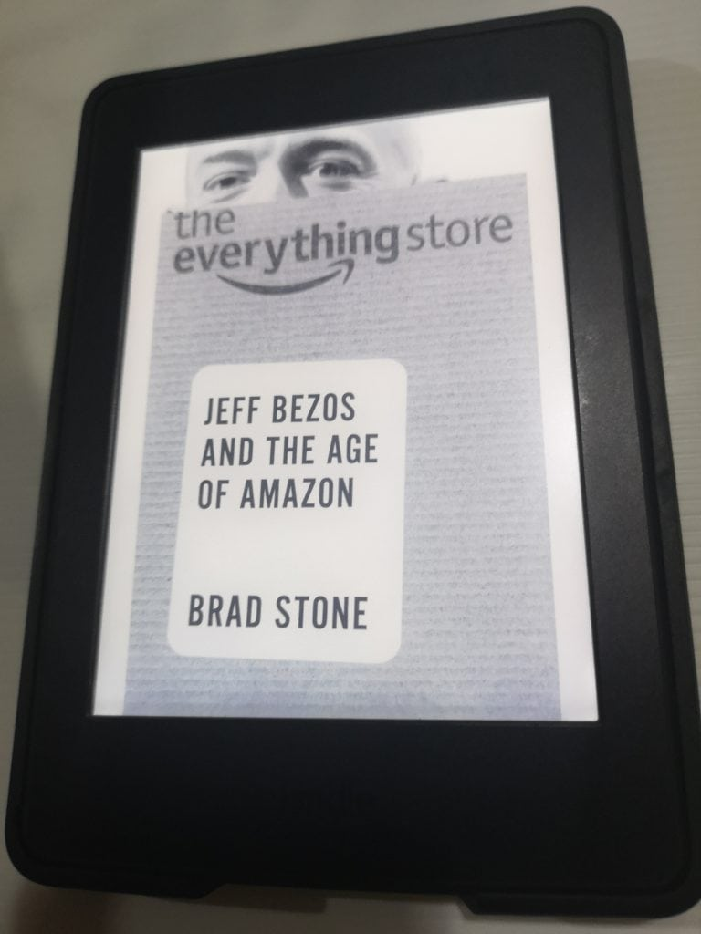 หนังสือ the everything store (Jeff Bezos and the age of amazon)