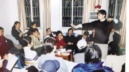 แจ๊คกับเหล่าทีมงาน 18 คน ซึ่งเป็นผู้ร่วมก่อตั้ง อาลีบาบา