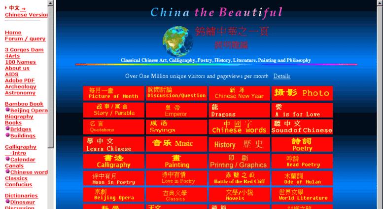 chinapages ในสมัยแรก ๆ เป็นเว๊บไดเร็กทอรี่ คล้าย ๆ yahoo