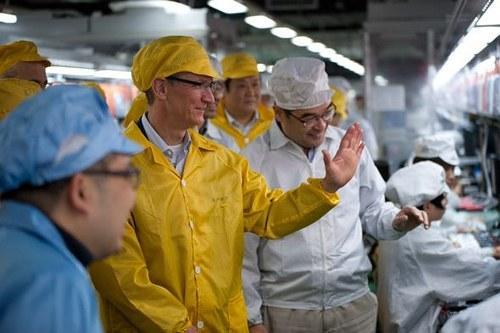 ได้ทิม คุก keyman คนสำคัญมาช่วยด้านซัพพลายเชน และการผลิต