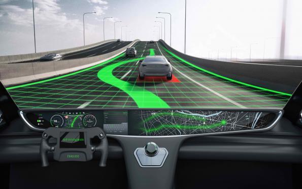 รถยนต์ ยุคใหม่ ถูก control ด้วย software AI