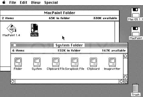 ต้นแบบของ windows ที่คนใช้กันทั่วโลกคือ macintosh ของ apple นั่นเอง