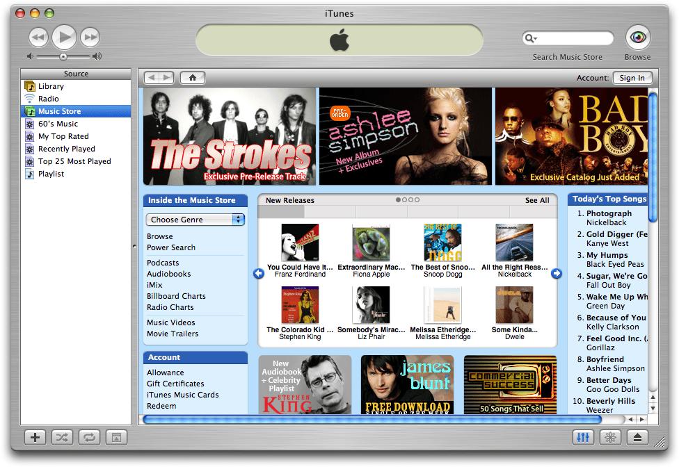 iTunes Store เพื่อแก้ปัญหาเรื่องละเมิดลิขสิทธิ์เพลงและแบ่งส่วนแบ่งให้ค่ายเพลงและศิลปินอย่างเป็นธรรม