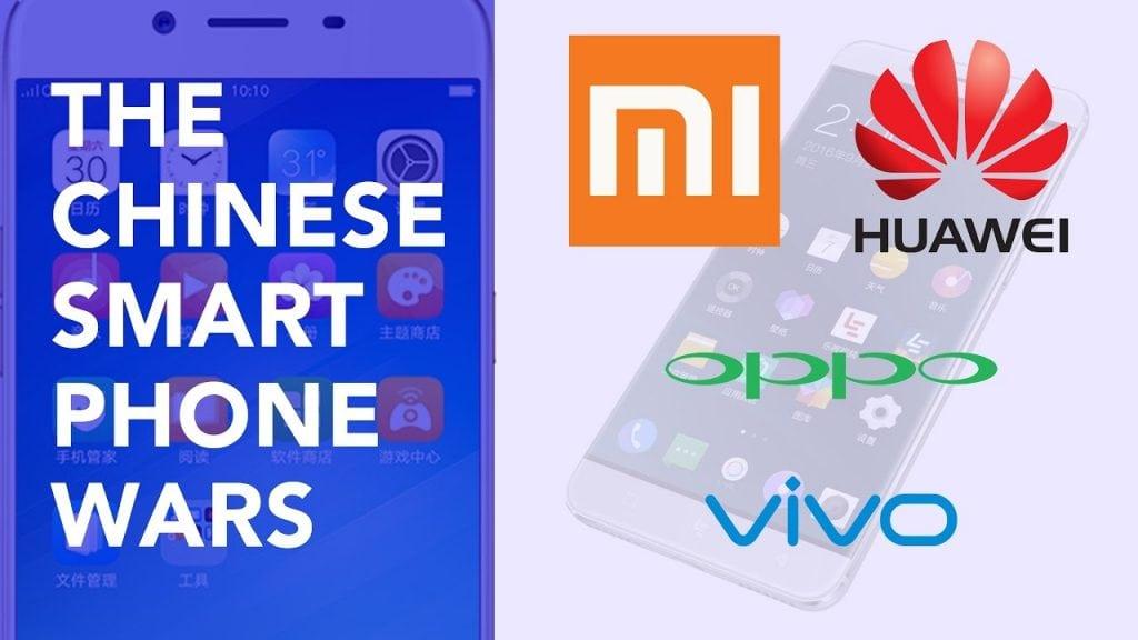 บริษัทผลิตมือถือเกิดขึ้นมากมายในประเทศจีน และแข่งขันกันอย่างดุเดือดโดยเฉพาะเรื่องราคา