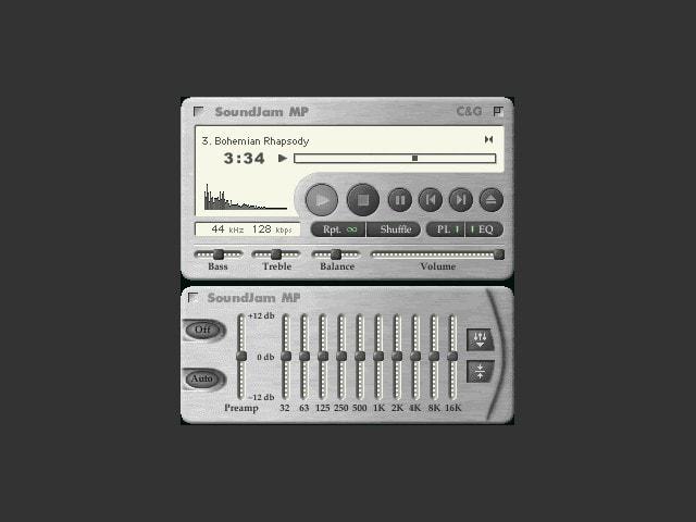 โปรแกรม SoundJam บน Mac ที่กลายร่างมาเป็น iTunes
