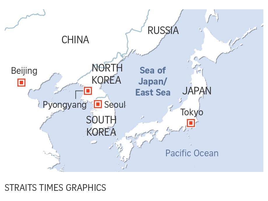 เกาหลีใต้ถูกโอบรอบด้วยชาติมหาอำนาจทั้ง จีน รัสเซีย ญี่ปุ่น รวมถึง เกาหลีเหนือที่มีความไม่แน่อน