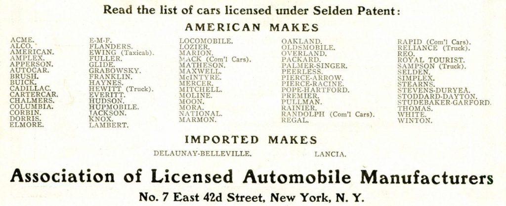 A.L.A.M ที่กำลังถือสิทธิบัตรการผลิตรถยนต์ในอเมริกา อีกหนึ่งการผูกขาดที่ Henry Ford ไม่ยอมแพ้