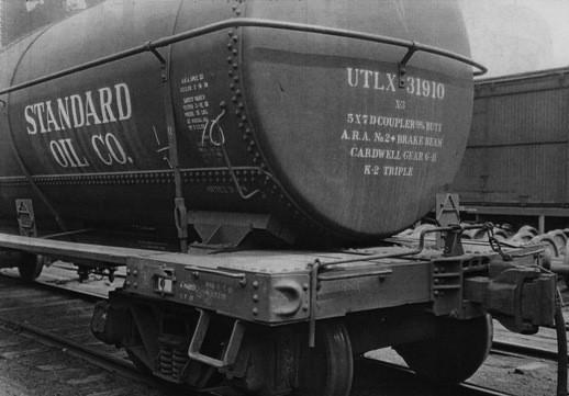 Standard Oil ที่ใช้การขนส่งทางเครือข่ายรถไฟของ Vanderbilt เป็นหลักในช่วงแรก