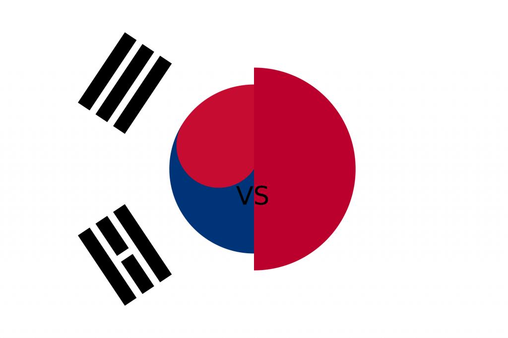 เกาหลีต้องการโค่นญี่ปุ่นลงให้จงได้ ทั้งสองมีประวัติที่ไม่ลงรอยกันมานาน