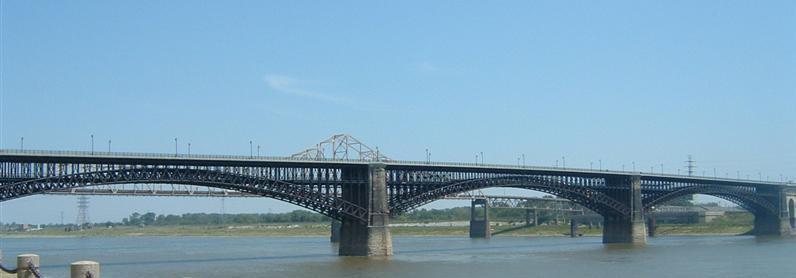 สะพานเหล็กกล้าของ Carnegie ยังอยู่มาจนถึงปัจจุบัน