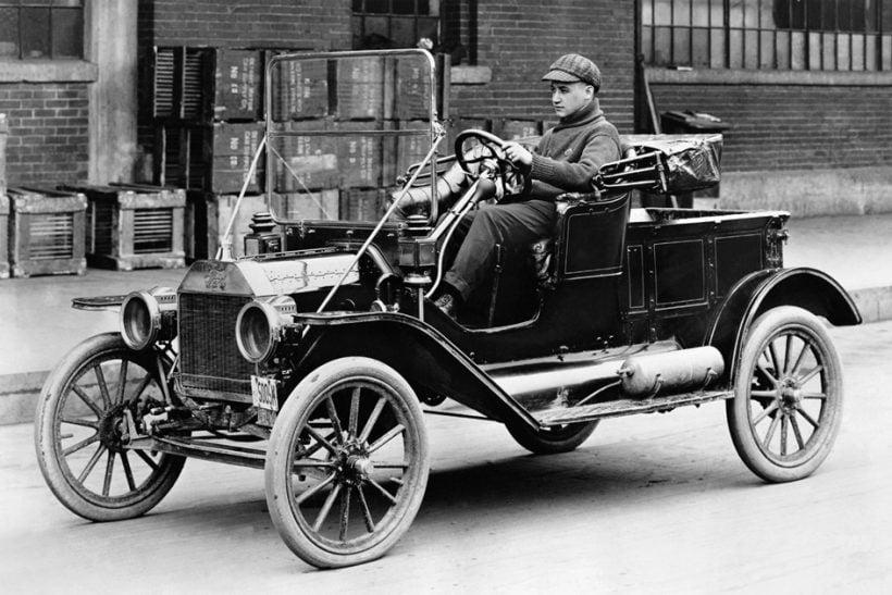Ford Model T ที่สามารถเข้าถึงประชาชนทั่วไปได้ด้วยราคาประหยัด