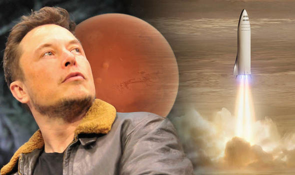 แนวคิดอพยพไปดาวอังคารของ Elon Musk