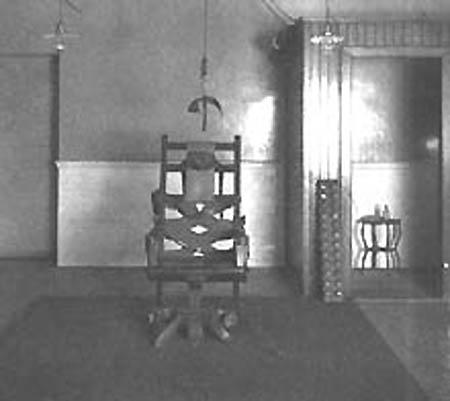 เก้าอีไฟฟ้าของ Edison