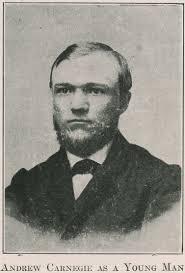 ผู้ช่วยคนสำคัญของทอม สก็อต Andrew Carnegie