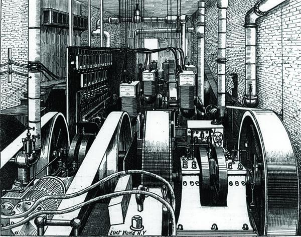 นำแก๊สโซลีนมาใช้ในเครื่องจักรโรงงานก่อน หลังจากทิ้งมันมานาน