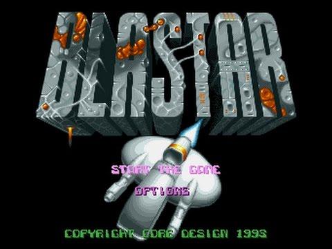 BLASTER เกมส์แรกที่ทำรายได้ให้มัสก์