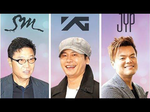 สามยักษ์ใหญ่แห่งวงการ K-Pop เกาหลี