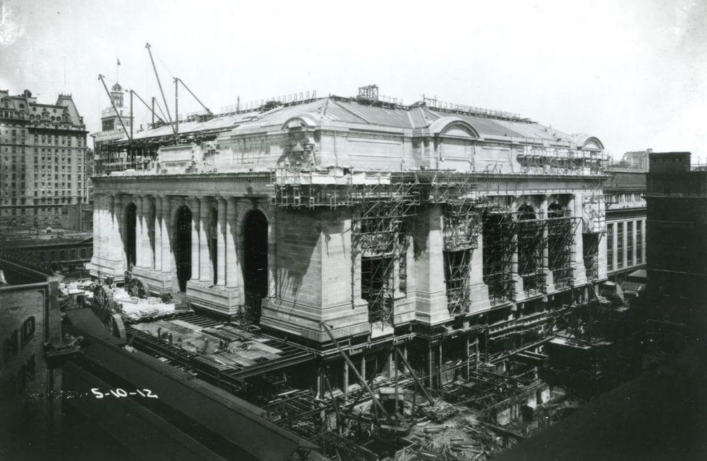 สร้างสถานี Grand Central เพื่อเป็นสัญลักษณ์