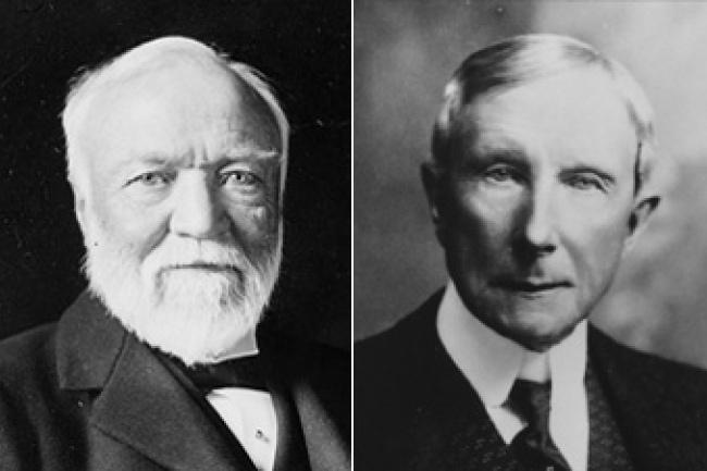 คู่แค้นคนสำคัญอย่าง Rockefeller ที่เขาต้องการเอาชนะให้ได้
