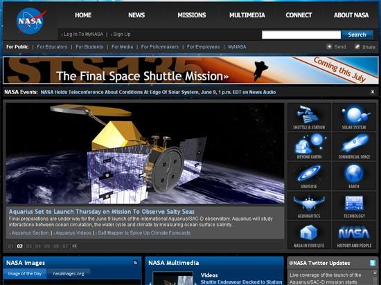 มัสก์ค้นหาข้อมูลในเว๊บ NASA พบว่าไม่มีการอัพเดทเรื่องดาวอังคารเลยด้วยซ้ำ