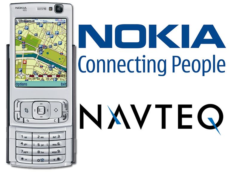 Navteq บริการด้านแผนที่ชื่อดังในขณะนั้น