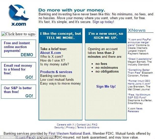 X.com บริการที่จะมาปฏิวัติวงการการเงิน