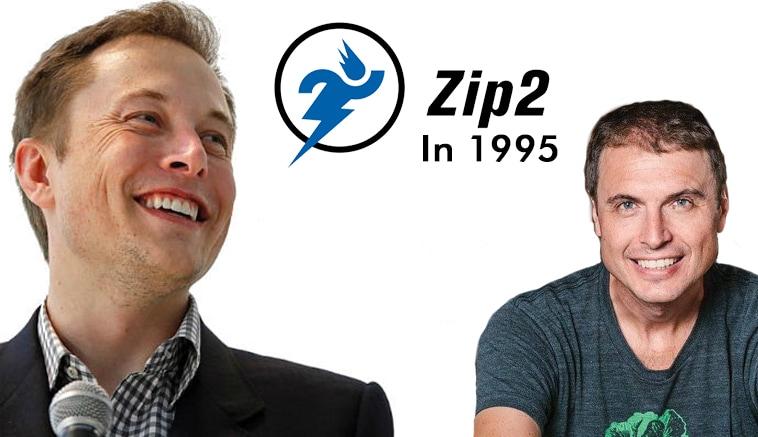 สองพี่น้องมาร่วมกันตั้ง Zip2