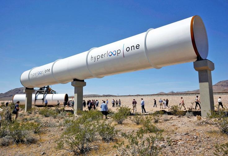 แนวคิดปฏิวัติระบบขนส่งใหม่อีกครั้งของมัสก์ Hyperloop