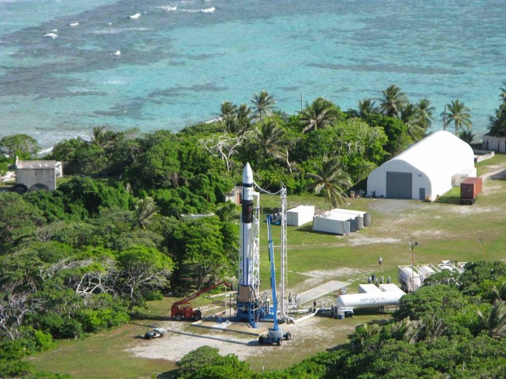 เกาะควาเจเลน หรือ ควาจ ที่มั่นใหม่ของ SpaceX