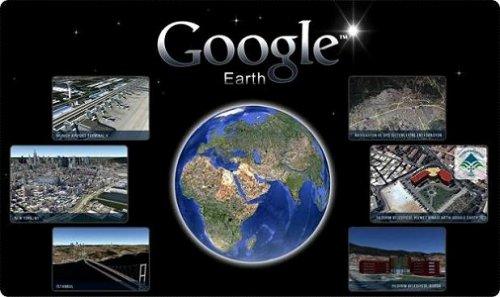 Google Earth ที่ออกมาเพื่อให้ทุกคนสามารถที่จะสำรวจโลกทั้งใบได้
