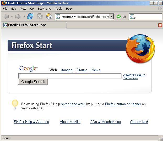 Firefox ที่กำลังได้รับความนิยมทดแทน Internet Exproler