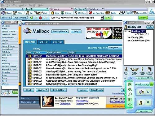 บริการของ AOL ทำการลบอัตโนมัติทุก ๆ 30 วัน