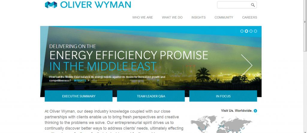 Shah เริ่มงานแรกที่ Oliver Wyman บริษัทด้านที่ปรึกษาชั้นนำ