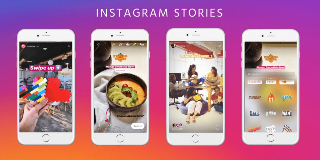 Instragram Story ที่มาฆ่า Snapchat โดยตรง