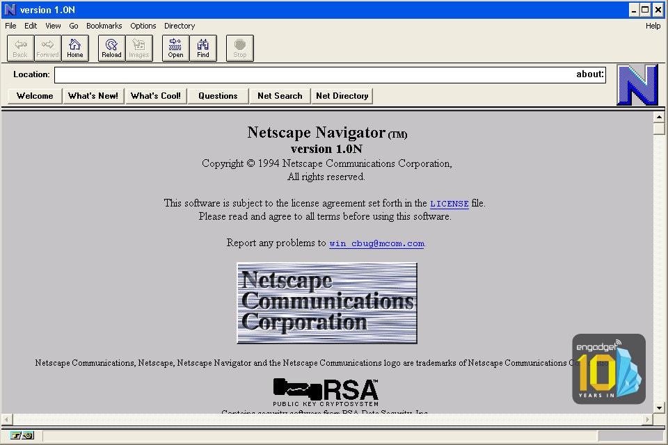 Nosek เริ่มต้นการทำงานกับ NetScape