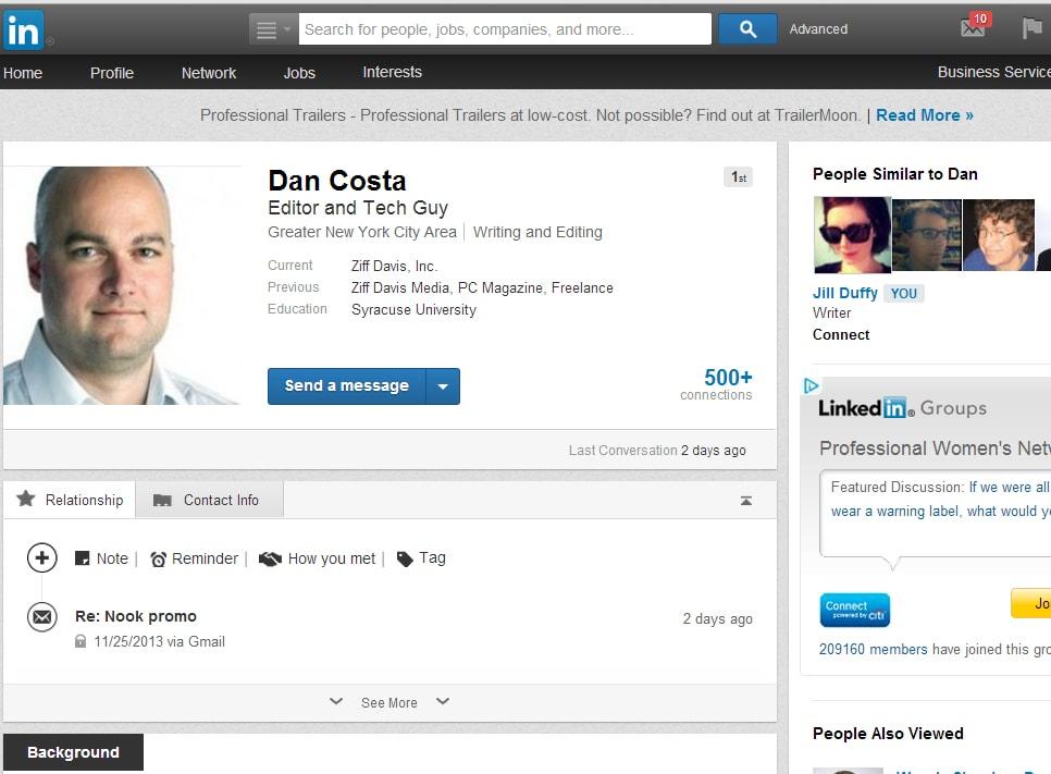 ย้ายไปร่วมงานกับ LinkedIn
