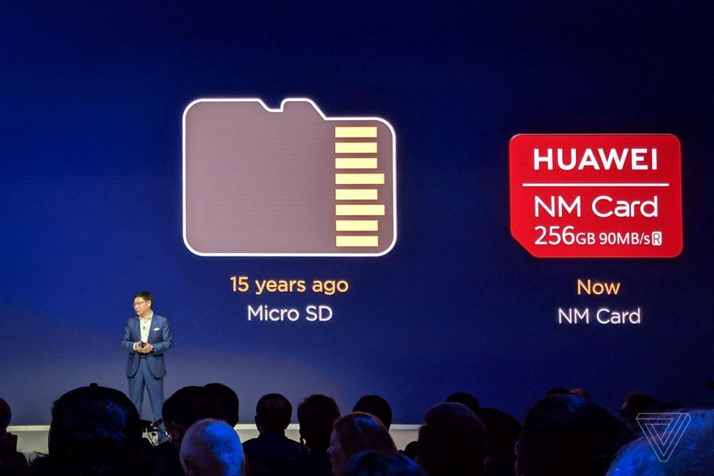 หน่วยความจำนาโน ที่ Huawei พัฒนาขึ้นมาเอง