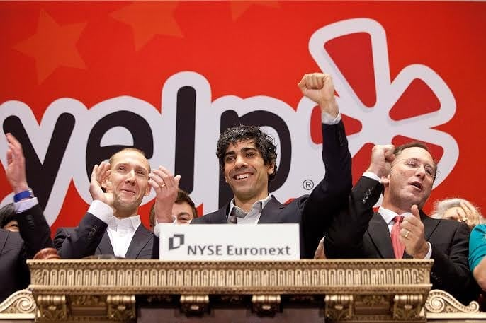 พา Yelp เข้า IPO ในตลาดหลักทรัพย์นิวยอร์กได้สำเร็จ